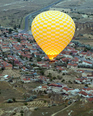 Hot air balloons show