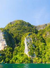 Lagoon Mountains High Cliff