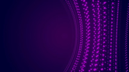 purple light, abstract loop motion background