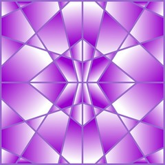 Purple geometric tile with a gradient