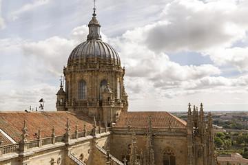 Catedral de Salamanca, cúpula.