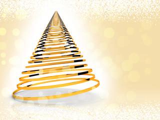 Albero di Natale stilizzato 3D