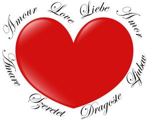 Amour en Europe