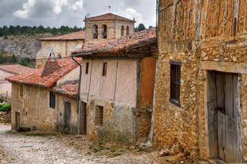 Old houses in Calatanazor, Soria, Spain