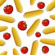 corn  seamless pattern