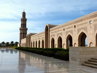 The Grand Mosque in the Sultanate of Oman