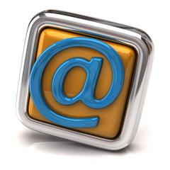 Orange E-mail button