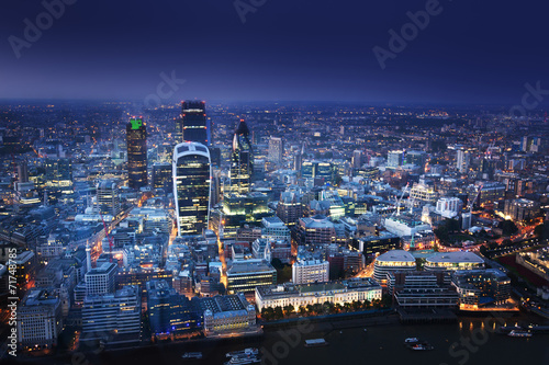 City of London At Sunset - 71748785