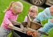 little girls wine making