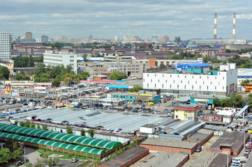 South port district in Moscow, the automobile market