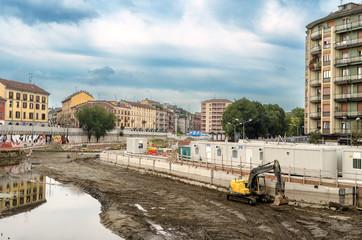 Milano, lavori sulla Darsena, Navigli