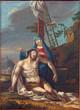 Padua - The paint of Pieta scene in the Duomo