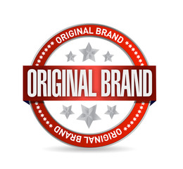 original brand seal illustration design