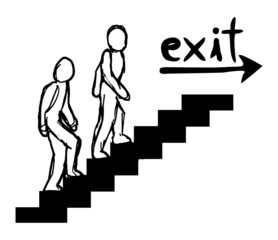 Exit message