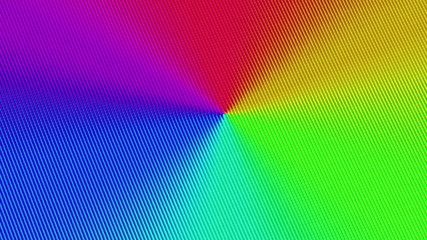 Color spectrum on a screen. Looping.