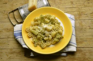 Ruote e broccoli Cucina italia İtalyan mutfağı Expo 2015 Milano