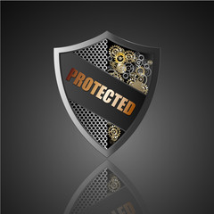 Protected Shield.vector