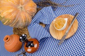 Homemade pumpkin sweet