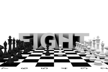 chess fight