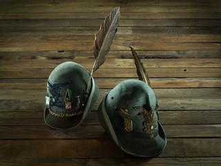 cappelli di Alpini