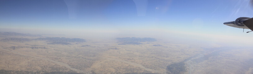 Aerial Panoramic of Afghanistan