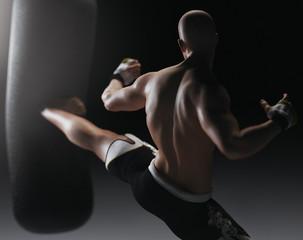 Illustrazione arti marziali