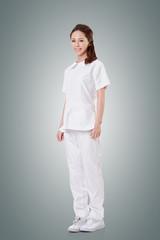Attractive Asian nurse