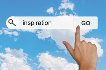 inspiration on search toolbar