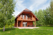 Wooden cottage. - 71757109