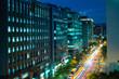 night view of taipei city, taiwan