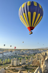 Turchia, Cappadocia, Goreme voli in mongolfiera