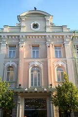 Building in the center of Vilnius