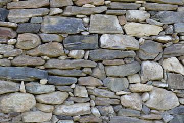 Weingarten Steinmauer in Terrassenweingarten