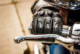 Fototapety Motorcycle Racing Gloves
