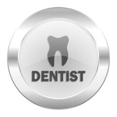 dentist chrome web icon isolated