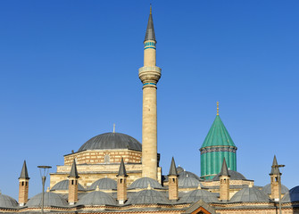 Turchia, Konya mausoleo Sufi di Mevlana