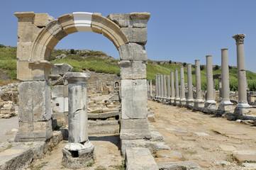Turchia, antiche rovine di Perge, costa di Antalya