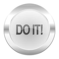 do it chrome web icon isolated