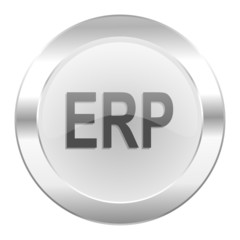 erp chrome web icon isolated