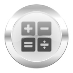 calculator chrome web icon isolated