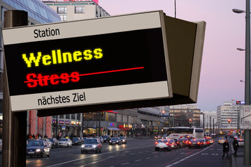 Anzeigetafel 5 - Wellness