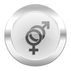 sex chrome web icon isolated
