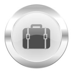 bag chrome web icon isolated