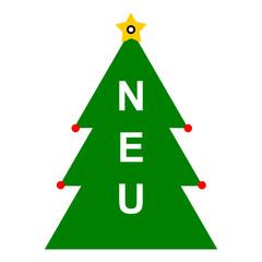 Neu Weihnachtsbaum