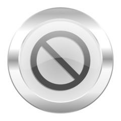 access denied chrome web icon isolated