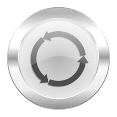 refresh chrome web icon isolated