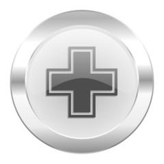 pharmacy chrome web icon isolated