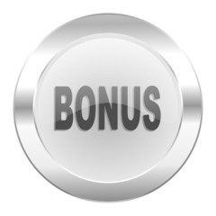 bonus chrome web icon isolated