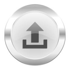 upload chrome web icon isolated
