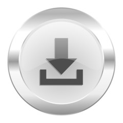 download chrome web icon isolated